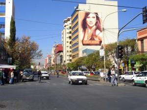 avenidas en la ciudad de cochabamba