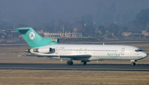 avion de la ex aerolinea boliviana aerosur