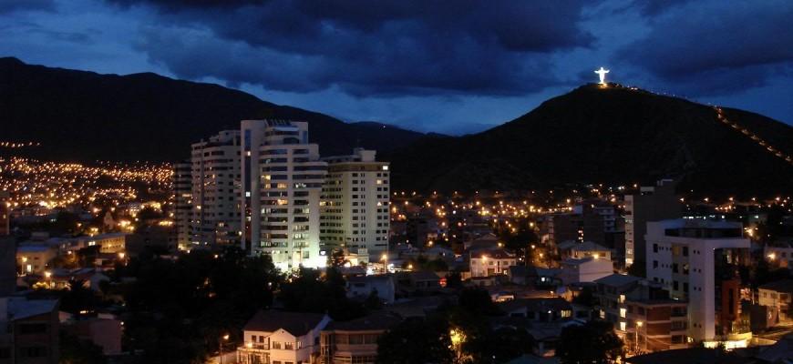 ciudad de cochabamba atardecer
