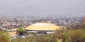coliseo de la coronilla en la ciudad de cochabamba