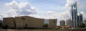 el cine center antes de su inauguracion en cochabamba