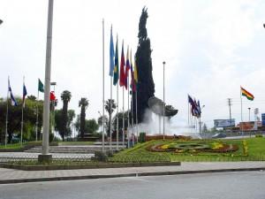 plaza de las banderas cochabamba