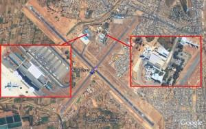 vista aerea del aeropuerto de cochabamba