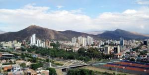 vista de la ciudad de cochabamba