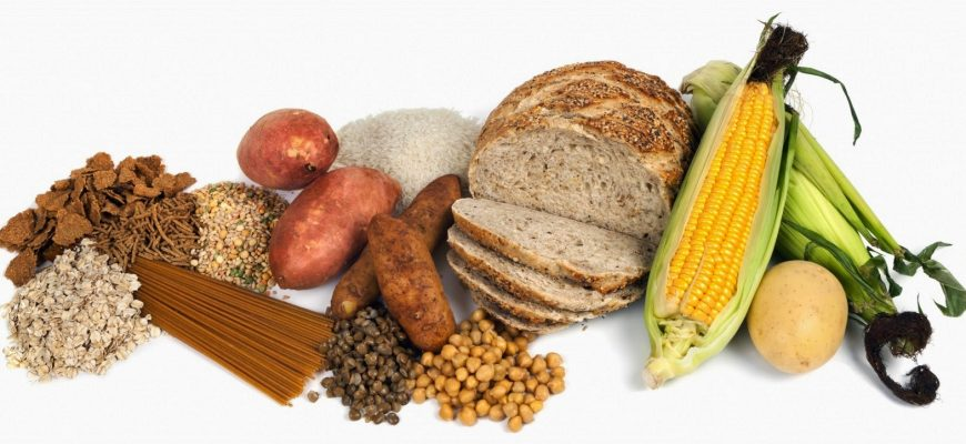 Alimentos con gran contenido de Almidón