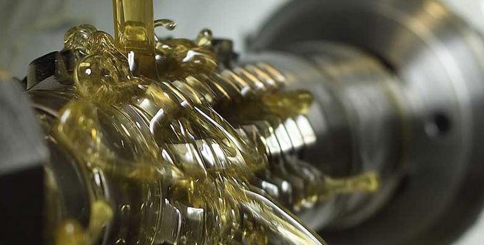 Uso de lubricantes industriales