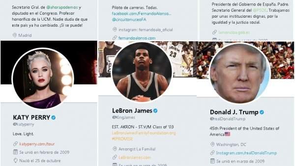 Como identificar una cuenta falsa de un famoso en las redes sociales