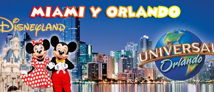 Las mejores vacaciones en Miami y Orlando